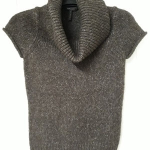 BCBG MaxAzria Short Sleeve Cowl Neck Sweater